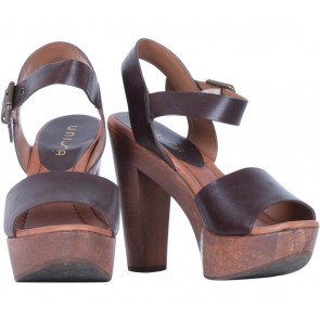 Unisa Brown Heels