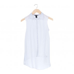 H&M   White Sleeveless