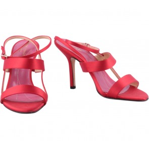 Kate Spade Red Strapped Heels