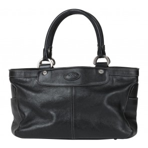 Tod´s Black Leather Tote Bag