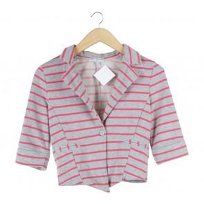 Cotton On Grey And Pink Blazer