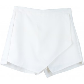 Look Boutique White Skort Pants