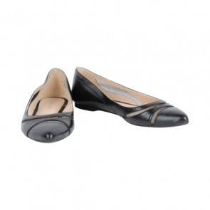 Nine West Black Flat Shoes