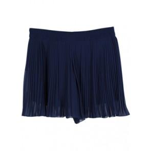 Dark Blue Pleated Pant