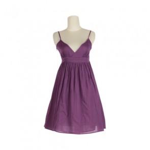 Purple Baby Doll Mini Dress