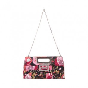 Guess Red Floral Clutch