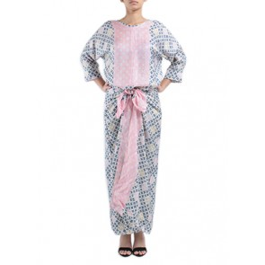 Multi Color Batik Caftan