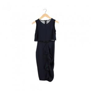 Navy Shealth Midi Dress