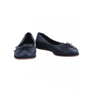 Clarks Black Ribbon Flat Shoes