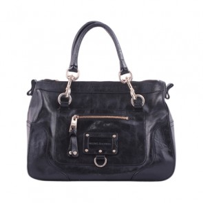 Marc Jacobs Black Leather Hand Bag