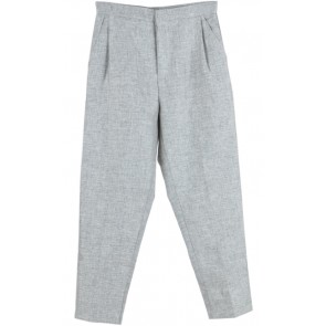 Grey Linen Pants
