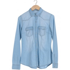 Blue Wash Denim Shirt