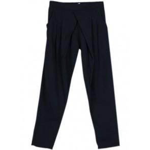 Navy Blue Cotton Pants