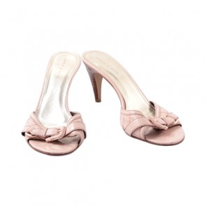 Charles and Keith Pink High Heel Sandals