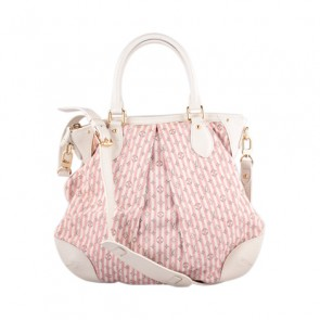 Louis Vuitton Pink Monogram Lin Satchel