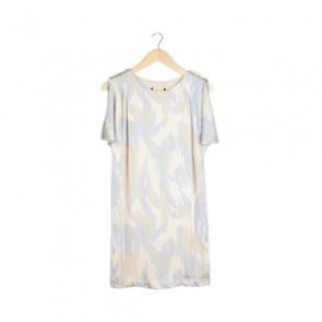 Multi Abstract Mini Dress
