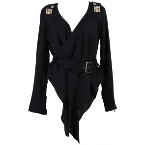 Black Studded Blazer
