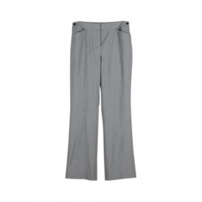 Grey Straight Pants