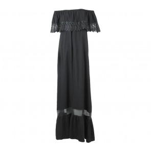 Vintage Treasure Black Lace Long Dress
