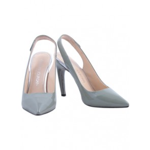 Charles Jourdan Green Sling Back Pointy Heels