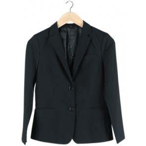Black Basic Blazer