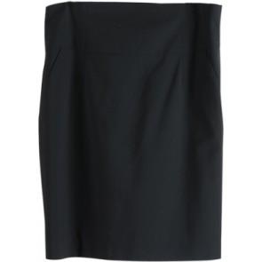 Black Basic Short Skirt