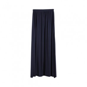 Blue Basic Long Skirt