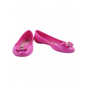 Kate Spade Pink Jelly Flats