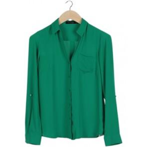 Green Pocket Shirt