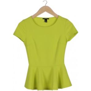 Green Peplum Blouse