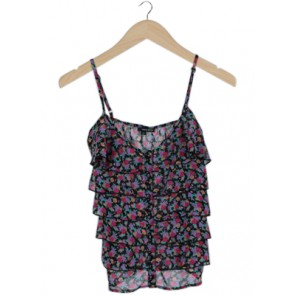 Multi Floral Sleeveless Top