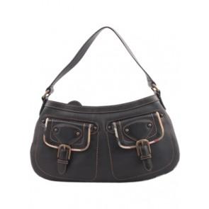 Burberry Black Pocket Shoulder Bag