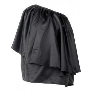 Black One Shoulder Blouse