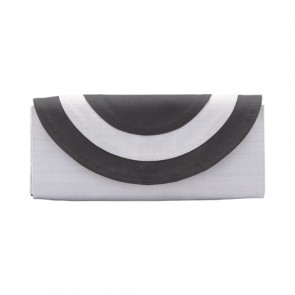 Grey and Black Clutch