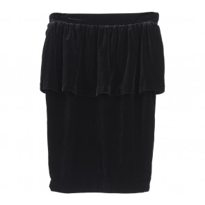 Mango Black Peplum Skirt