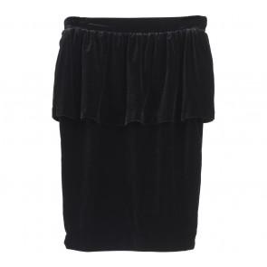 Mango Black Peplum Skirt