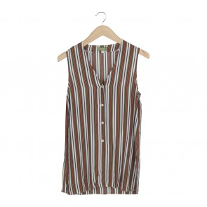 Esprit Multi Colour Striped Sleeveless