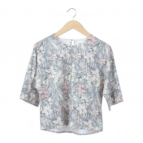 This is April Multi Colour Floral Blouse