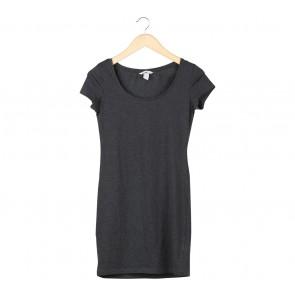 H&M Dark Grey Mini Dress
