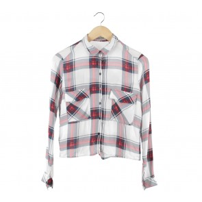 Bershka Multi Colour Plaid Shirt