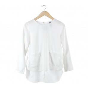 Cotton Ink White Blouse