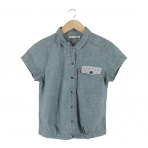 Levi´s Light Blue Denim Shirt