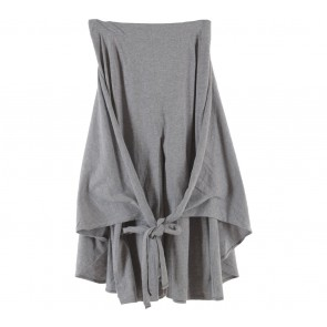 Noki Grey Tied Skirt