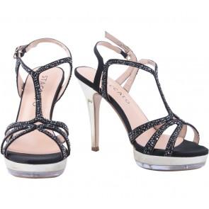 Staccato Black Heels