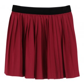 Divided Maroon Skirt