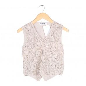 Sportsgirl Cream Net Vest