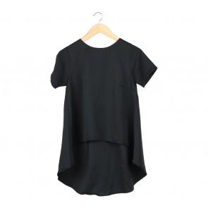 Petale Black Blouse