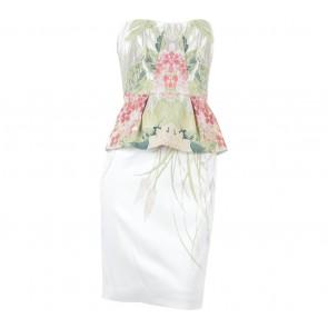 Karen Millen Multi Colour Tube Mini Dress