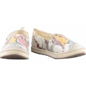 Sakroots Cream Sequins Slip On Sneakers