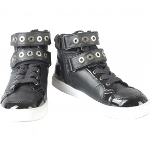 Aldo Black And White Bastion Sneakers